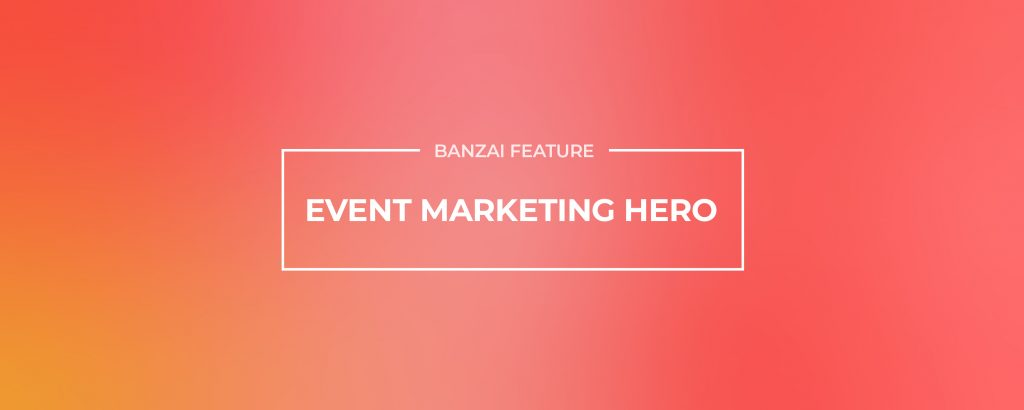 Event Marketing Hero
